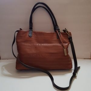 IL DUCA Made in Italy Leather Satchel Bag